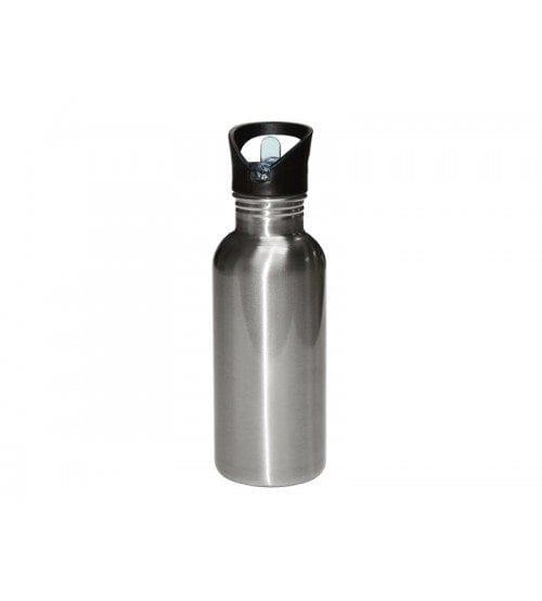600ml Stainless Steel Bottle Silver-MUG-SS20S