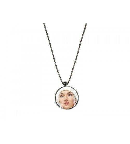 Necklace - Round charm