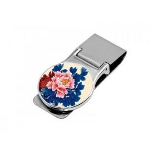 Money Clip Round (Includes Black Gift Box) (Money Clip Round)