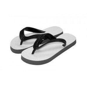 Child Flip Flops Black Medium