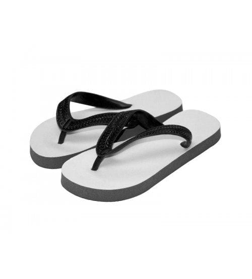 Child Flip Flops Black Medium