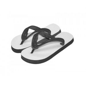 Child Flip Flops Black Small