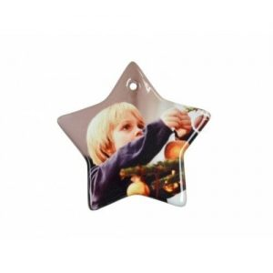 "3"" STAR Chrismas Ornament H005"