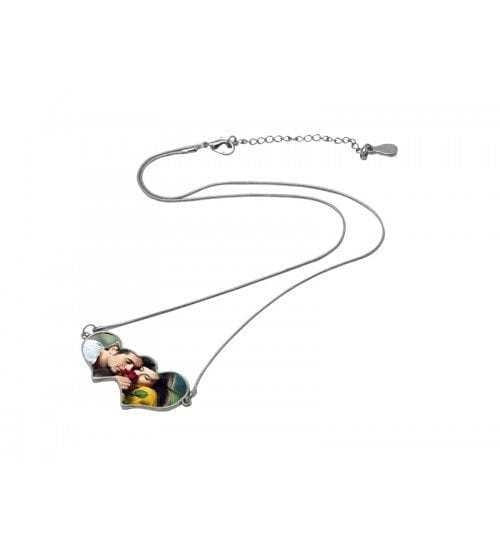 Sublimation Necklace Heart To Heart(NECKLACE-HH)