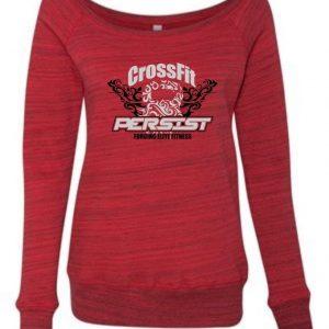Crossfit Persist-Sponge Fleece Wide Neck