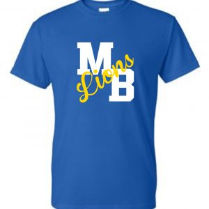 Milford Brook MB-Lions short sleeve t-shirt