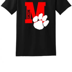 MEMS Letter t-shirt