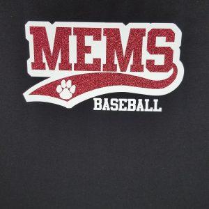 MEMS Baseball 2019 t-shirt