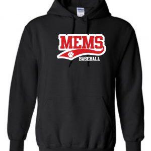 MEMS Baseball 2019 Regular Hoodie Sweatshirt