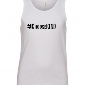 ChooseKIND Youth Tank Tops – black available in tank tops for youth