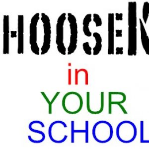 **ChooseKIND Hoodie sweatshirts – Youth School Colors**