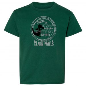 Clark Mills class of 2020 shirt