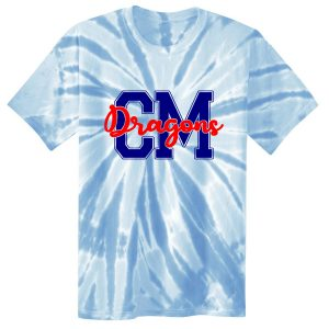Clark Mills Red,White and Blue Spirit Day Shirt