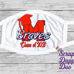 Fashion Face Cover – Class of 2021- Manalapan HS