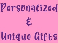 Personalized and Unique Gifts