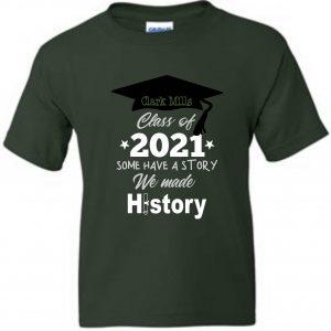 Clark Mills 2020-2021 5th Grade Shirt